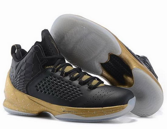 Air Jordan Melo M11 Black Gold Taiwan